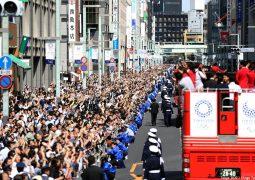 800.000 στην παρέλαση Ολυμπιονικών και Παραολυμπιονικών