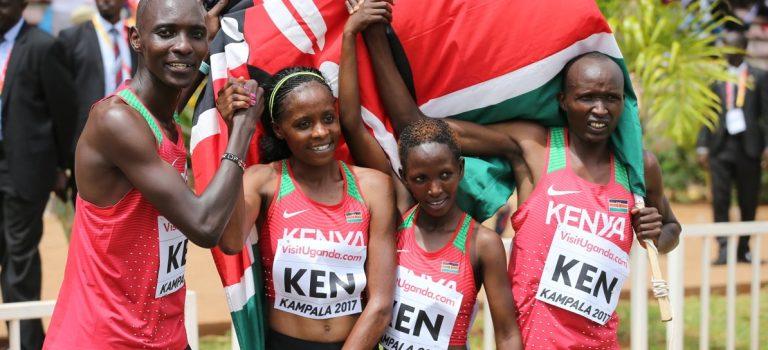 Η Κένυα πήρε το πρώτο χρυσό στη σκυτάλη