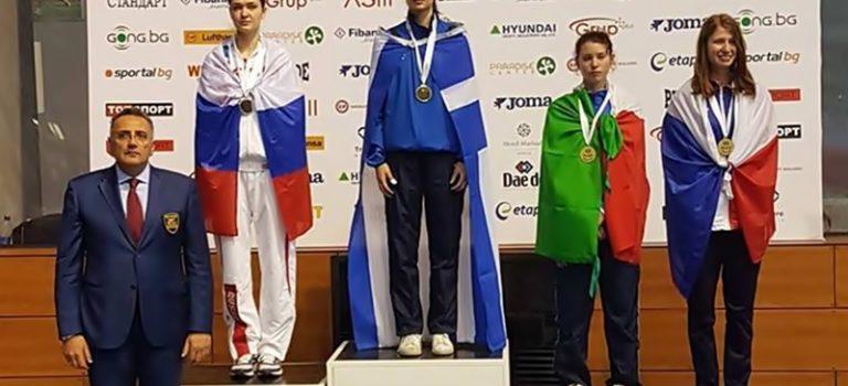 Πρωταθλήτρια Ευρώπης η Δεσύλλα, 2ος ο Σκούρτης