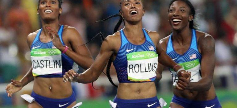 Ένα χρόνο εκτός χρυσή  Ολυμπιονίκης για τρία non show