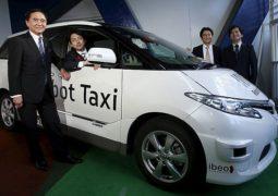 Ταξί χωρίς οδηγούς στο Τόκιο 2020