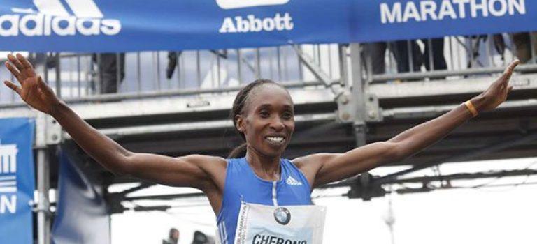 Η Τσερόνο έκανε το νταμπλ για την Κένυα στο Βερολίνο