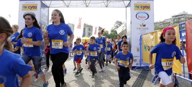 Ρεκόρ συμμετοχών στοΤρέξε Χωρίς Τερματισμό της Θεσσαλονίκης