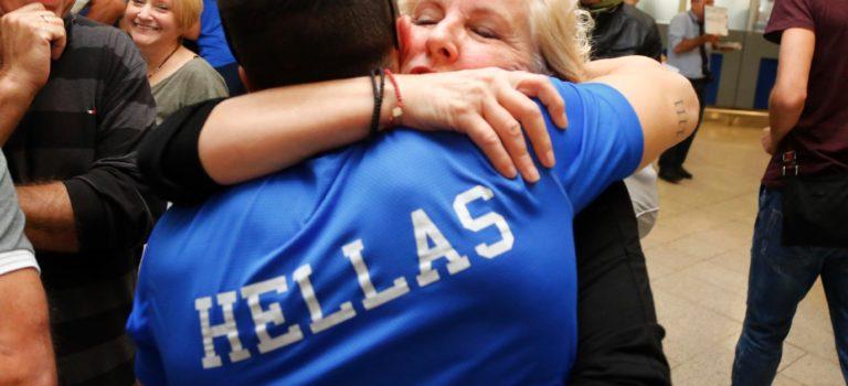 H xρυσή αγκαλιά της μάνας