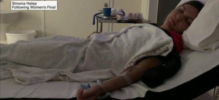 Στο νοσοκομείο μετά τον τελικό του όπεν η Χάλεπ