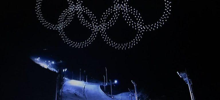 1200 drones για τους 5 Ολυμπιακούς κύκλους (video)!