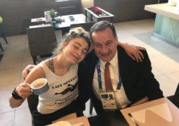 Με στήριξη Καπράλου στο μαραθώνιο των Ολυμπιακών η Παππά