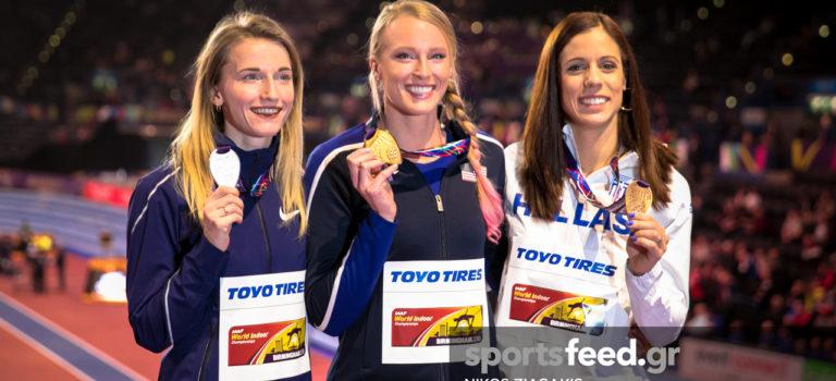 Μπέρμιγχαμ 2018: Μόνο χαμόγελα για αυτό το μετάλλιο της Κατερίνας